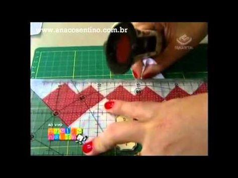 Patchwork Ana Cosentino: Barrado em Seminole Coração (Ateliê na TV)