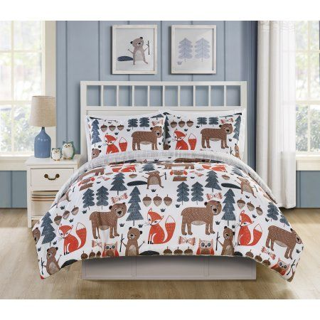 Home With Images Comforter Sets Kids Camping Bed Woodland