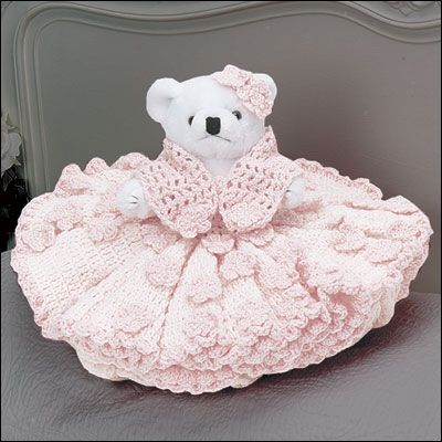 Teddy Bear Bed Dolls...Free Pattern