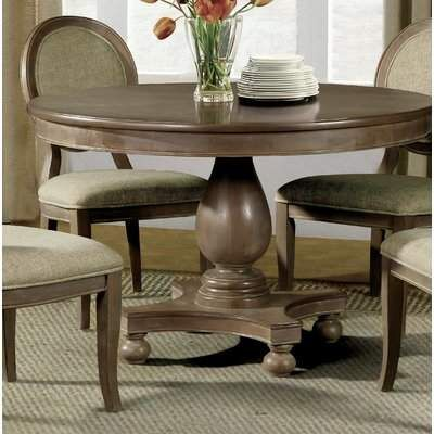 Greyleigh Alverta Dining Table Wayfair Round Dining Room Sets Round Pedestal Dining Table Round Dining Room Table
