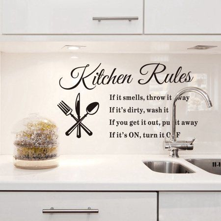 Home Improvement Kitchen Wall Stickers Wall Stickers Home Diy
