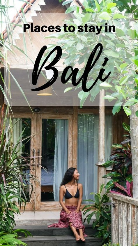 Where to Stay in Bali for Every Budget - To make it easy, we have divided this list of places to stay in Bali by areas, which is further sorted by average cost per night.