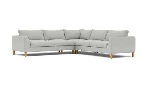 Asher Corner Custom Sectional Sofa - Interior Define