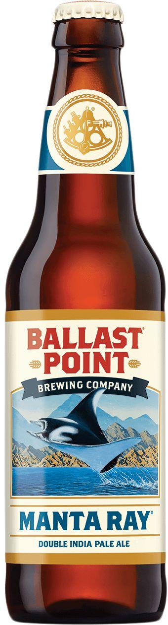 MANTA RAY DOUBLE IPA | Ballast Point