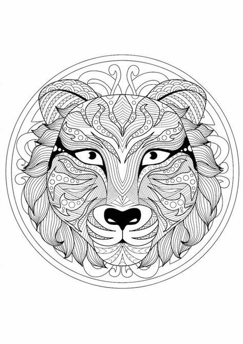 1001 Coole Mandalas Zum Ausdrucken Und Ausmalen Mandala
