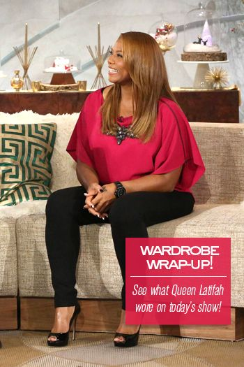 Queen Latifah's Wardrobe Wrap-up