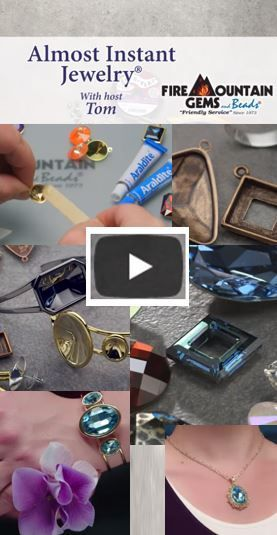 Video Tutorial: Use Swarovski crystal fancy stones and other