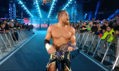 Buddy Murphy won the WWE Cruiserweight Championship at Super Show-Down