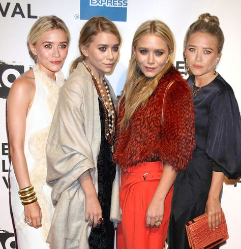 And finally, when they reminded us that sisters are a girl's best accessory: 14 Times The Olsen Quadruplets Were The Baddest Bitches On The Block