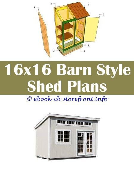 10x12 Lean To Shed Plans Lean To Shed Shed Plans Shed Storage