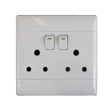 Socket 100x100mm 2x3pin Cbi Electric White Best Places To Live Fun Diys Good Things