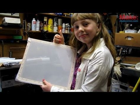 Super Simple Screen Printing - Sylvia's Super Awesome Mini Maker Show