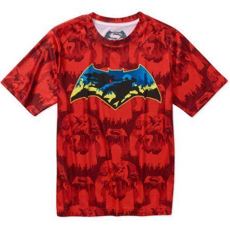 Batman - Dc Comics Batman Boys Tee, Size: S (6/7), White | Batman ...