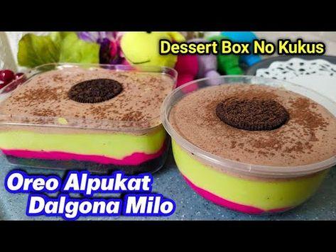Resep Simple No Oven Oreo Dessert Dalgona Milo Alpukat Tanpa Kukus Youtube Oreo Desserts Oreo Hidangan Penutup