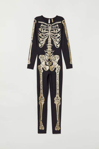 3D Printed Halloween Cosplay Jumpsuit Bodysuit GRACIN Womens Skeleton Costume
