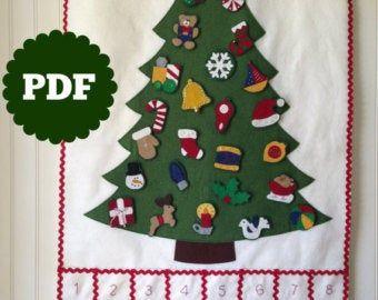 Pin On Felt Christmas Ornaments