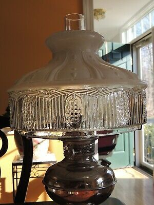 Details About Aladdin 10 Fancy Glass Lamp Shade Model 501 11 In