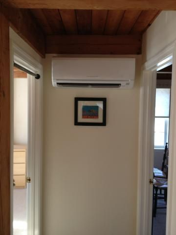 The Netr Crew Did A Great Job Installing This Mitsubishi Ductless