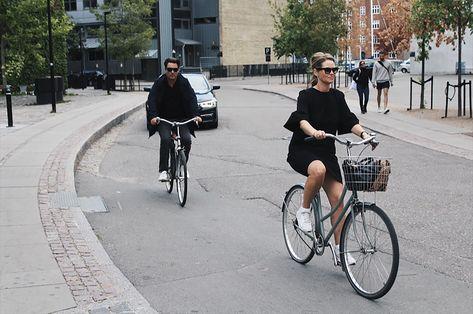 Bike Vehicle Bicycle People Walking And People Walking And