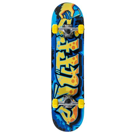 Yellow Enuff Also Complete Skateboard 7.75