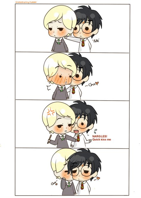 Drarry- Wooing Draco 4 by Cremebunny