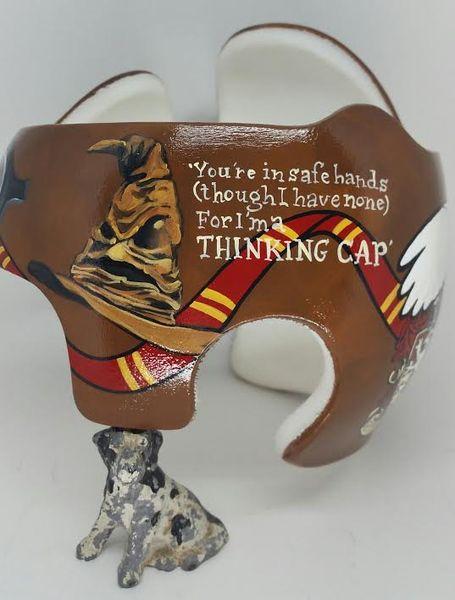 Book Inspired Designs Lazardo Art Baby Helmet Harry Potter Baby Harry Potter Icons