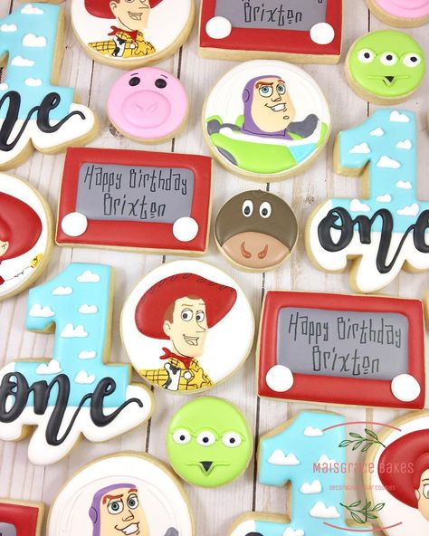Toy Story cookies! These ideas came from all over here on insta.