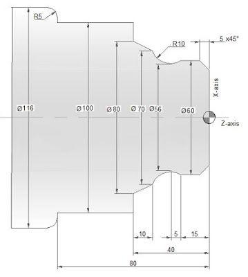 CNC Programming Examples - G02 G03 R | Tutorials Programming