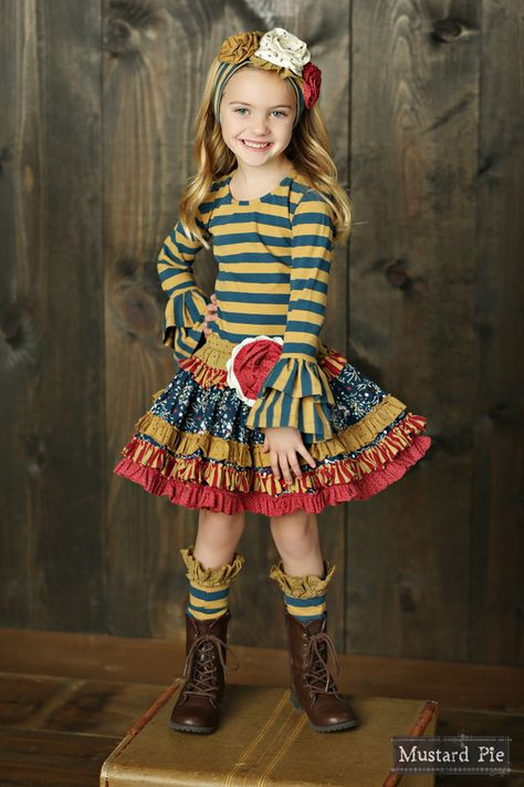 c05cc5064937a Mustard Pie Clothing Flora Band in Sandy Plum Fall 2015 Back to School