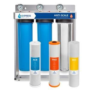 Pelican Water 15 Gpm Whole House Water Filtration And Natursoft Water Softener Alternative Sy In 2020 Whole House Water Filter House Water Filter Home Water Filtration