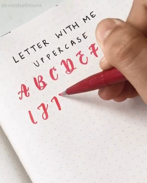 """Lettering Alphabet Art👉www.paperhouse.me💝Get 10% OFF with code """"PIN10""""💝Paperhouse Stationery"""
