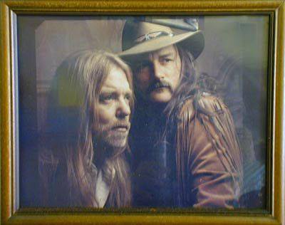 Gregg Allman And Dicky Betts Bros Band Allman Brothers Southern Rock