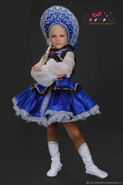 82e377f807f Детские карнавальные костюмы ручной работы. Заказать Костюм русской  красавицы 339