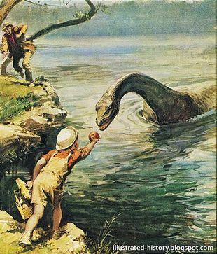 Loch Ness Monster Mythology Wiki Fandom Powered By Wikia Lake Monsters Loch Ness Monster Monster Art