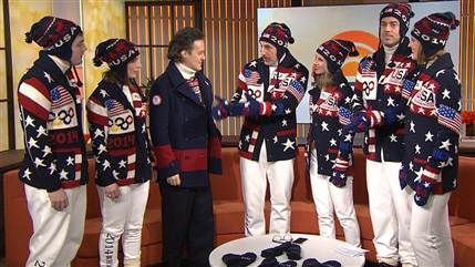 Patriotic style: Team USA reveals Olympic Opening Ceremony uniforms