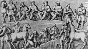 Image Result For Images Of Roman Assembly Germanic Tribes Dark Ages Byzantine Art