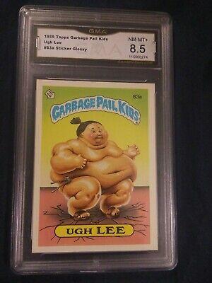 1985 Topps Garbage Pail Kids Card 83a Ugh Lee Gma Nm Mt 8 5 Ebay In 2020 Garbage Pail Kids Garbage Pail Kids Cards Kids Cards