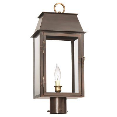 Lantern Scroll Georgetown 1 Light Outdoor Post Lantern Finish