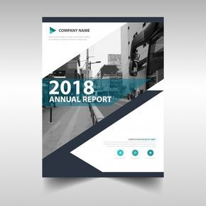 Download Creative Annual Report Book Cover Template For Free