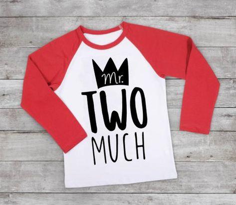 Boys Two Birthday Shirt