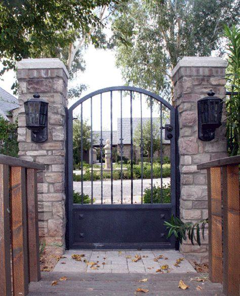 Wrought Iron Gates | Iron Walk Gates