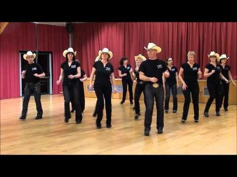Choreographed by Bill Bader Music by Brooks and Dunns - Boot Scootin' Boogie 32 wall - Beginner Level Dance Demo by Marina Studio Dance Workout Videos, Dance Choreography Videos, Dance Videos, Dance Exercise, Line Dancing Steps, Country Line Dancing, Country Music, Baile Country, Line Dance Songs