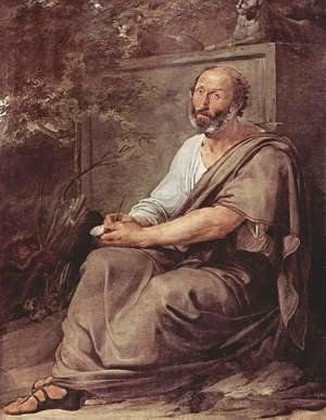 Aristoteles - Aristotle Painting by Francesco Paolo Hayez Reproduction |  1st Art Gallery | Painting, Greek philosophers, Art