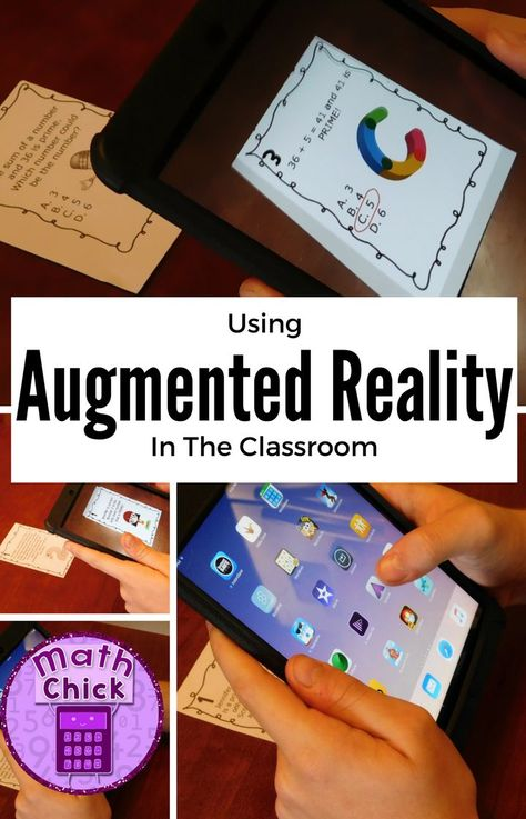 Amazing Augmented Reality in the Classroom!  (An Alternative to QR Codes).