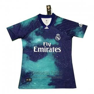 de57d7d7 Tailandia Camiseta Real Madrid EA Sports 2018-2019 Azul | Camisetas ...
