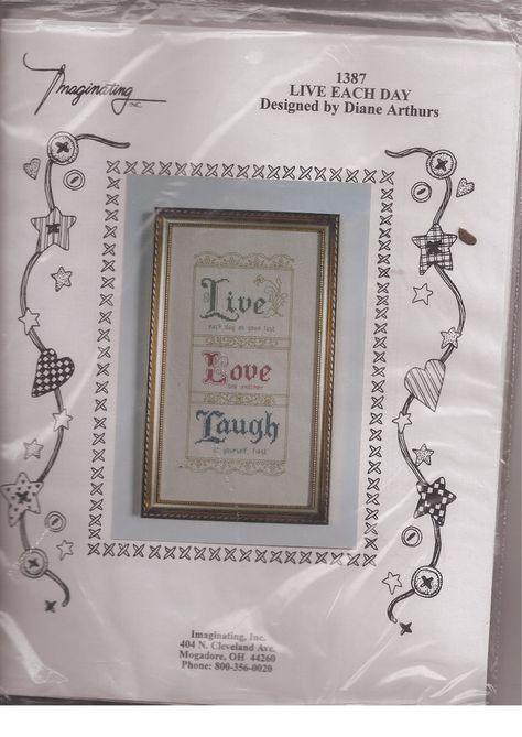 NEW Imaginating Counted Cross Stitch Kit SUGAR SKULL Diane Arthurs