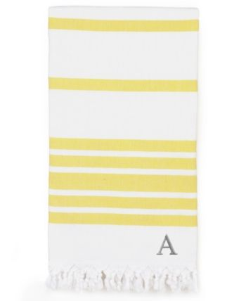 Linum Home Personalized Herringbone Pestemal Beach Towel Reviews