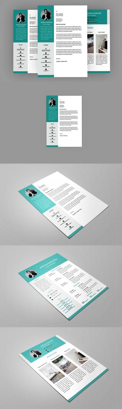 Blue Designer Resume