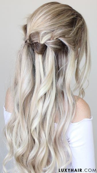 Party Hairstyles Holiday Hair Looks Guaranteed To Turn Heads Holiday Hairstyles Holiday Hairstyles Easy Medium Hair Styles
