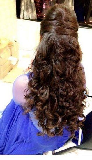9 Best Hairstyle Women Images On Pinterest Saree Hairstyles
